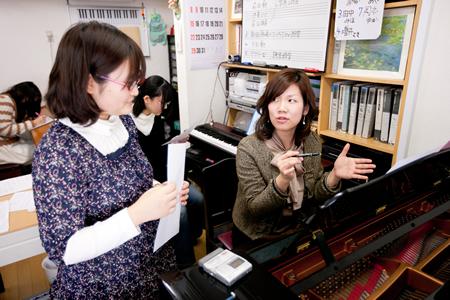 音楽教育歴や実績を持つ指導者が全面サポートする音楽教室